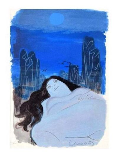 Roger Chapelain-Midy, 'Woman in the Dark', 1975