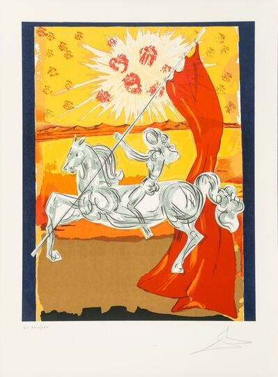 Salvador Dalí, 'Wilfred of Ivanhoe, from Ivanhoe', 1978