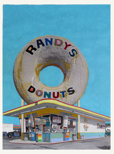 Fabio Coruzzi, 'The Giant Donut In Inglewood ', 2018