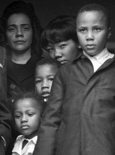 Harry Benson, 'King Family (Mrs. Martin Luther King, Jr.)', 1968