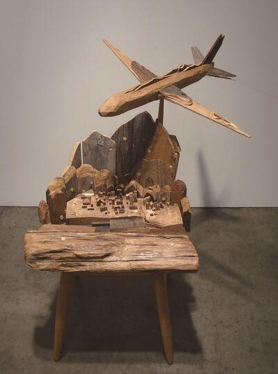 Toshimitsu Ito, 'Flight Over A-City', 2014