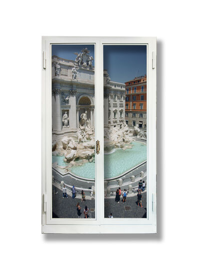 Anotherview, 'Anotherview No 21: Trevi Fountain a few days after lockdown', 2020