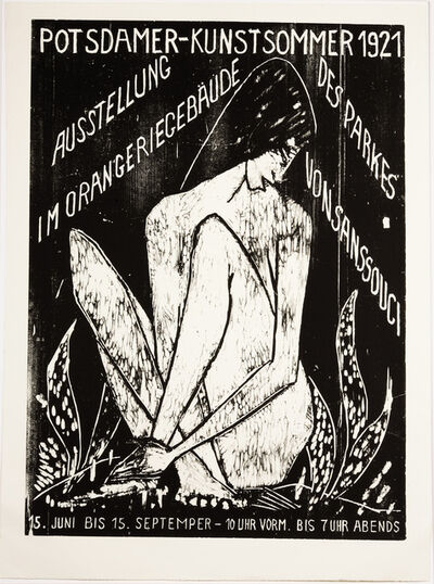 Otto Müller, 'Potsdamer Kunstsommer 1921 - Große Sitzende', 1921/2007