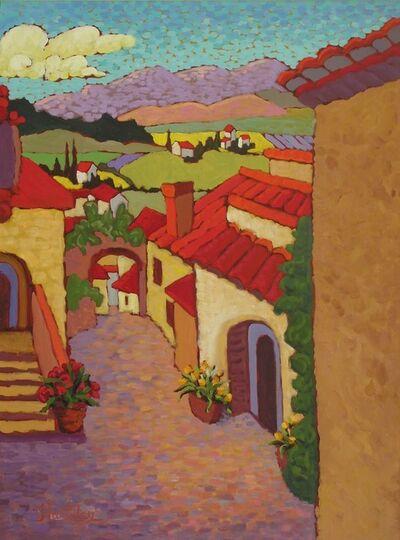 "Claudia Hartley, '""Walking Through an Old Village""', 2006"