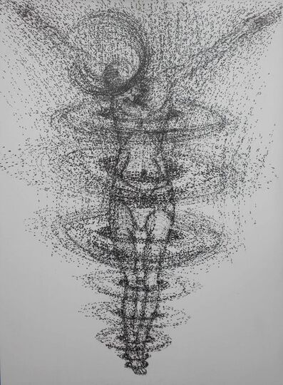 Yazid Oulab, 'Christ cosmique', 2013