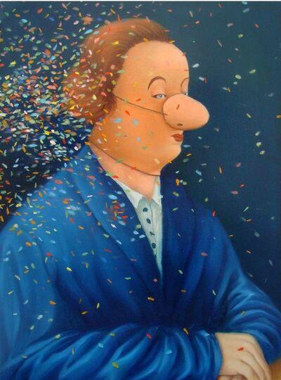 """Antoine Roegiers, 'Série Carnavals """"L'Homme aux Confettis""""', 2019"""