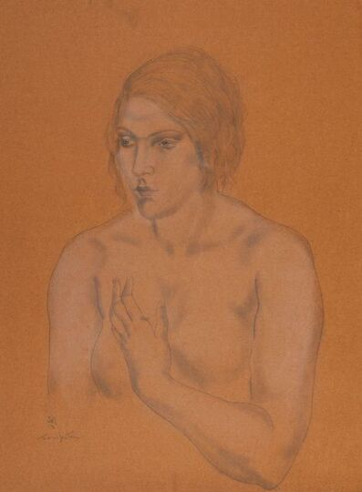 Léonard Tsugouharu Foujita 藤田 嗣治, 'Femme en buste', ca. 1930