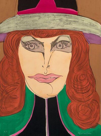 Richard Lindner, 'Redhead', 1974