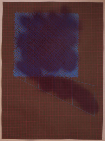 Richard Smith, CBE, 'Untitled - Abstract Grid', 1972