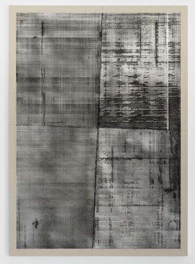 """Eric Baudart, '""""Milimeter Graph Paper Dark Matter""""', 2019"""