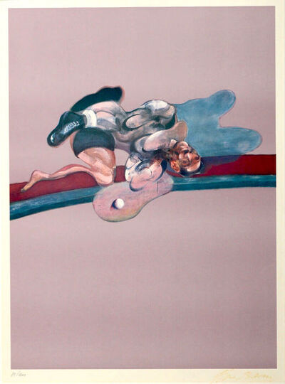 Francis Bacon, 'Francis Bacon- Triptych (After the Left Panel of Triptych, 1971, In Memory of George Dyer), ', 1975