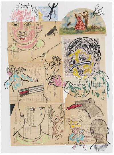 Carmen Calvo, 'Los cantos de Maldoror', 2015