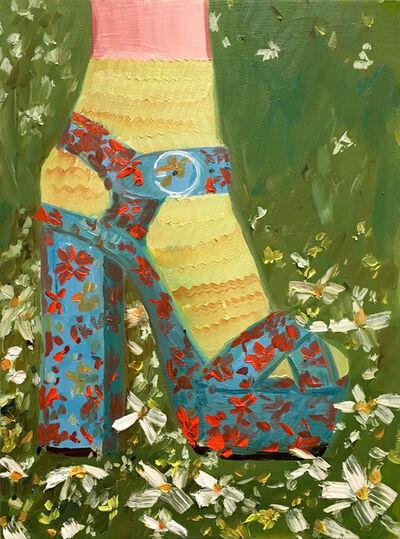 Sarah Osborne, 'Flowerbed', 2019