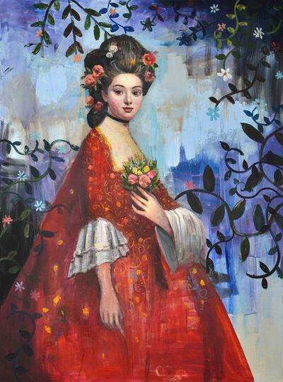 Rimi Yang, 'Portrait in Red', 2018