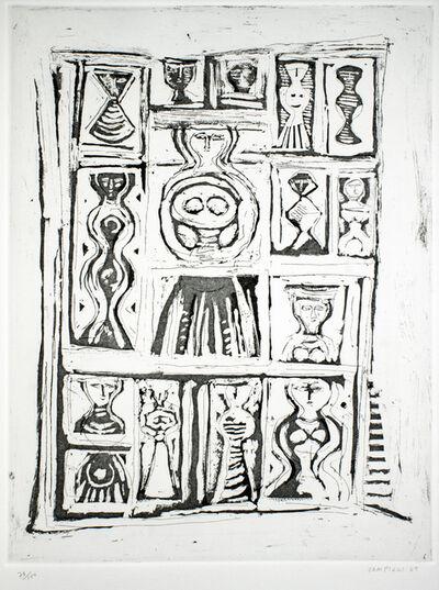 Massimo Campigli, 'Figure', 1969