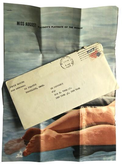 Bruce Conner, 'Bruce Conner to Ed Plunkett', 1963