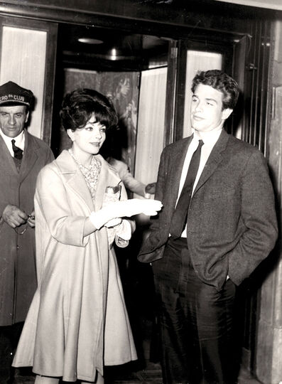 Marcello Geppetti, 'Warren Beatty and Joan Collins at via Veneto', 1961