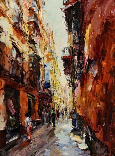 Lyudmila Agrich, 'Streets of Malaga', 2018