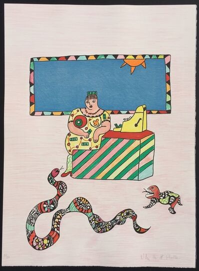 Niki de Saint Phalle, 'La Caissiere (The Cashier)', 1995