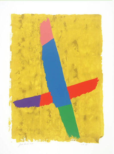 Jack Bush, 'Cross Over', 1971
