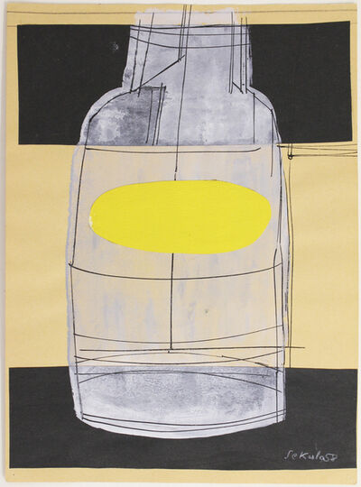 Sonja Sekula, 'Untitled (Bottle)', 1958