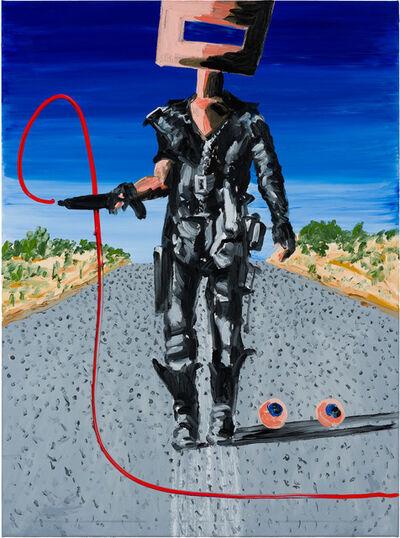 David Griggs, 'Propaganda painting (Number one)', 2020
