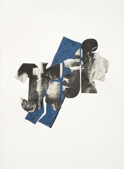 Ramona Sakiestewa, 'Blue Shape 1', 2014