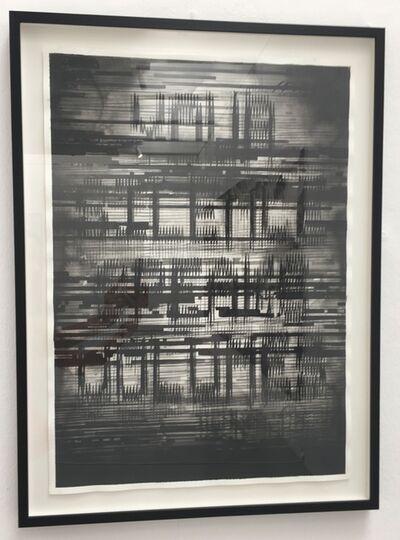 Radenko Milak, 'Difraction of Writing – 2', 2019