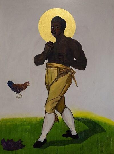 Godfried Donkor, 'St Thomas Molineaux', 2019