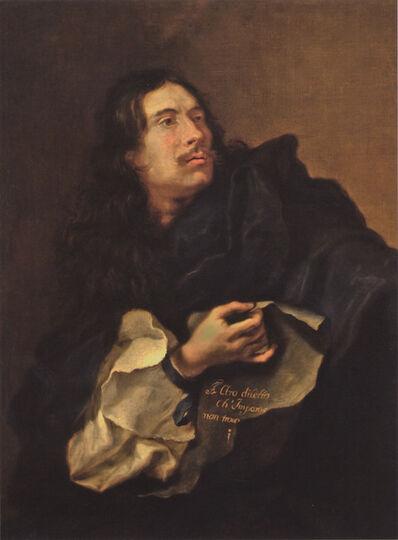 Guillaume Courtois,  il Borgognone, 'Self-Portrait'