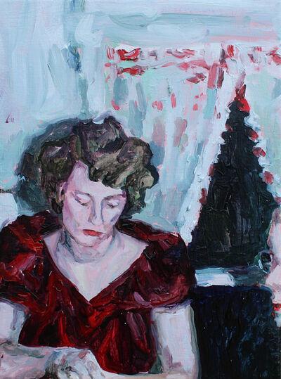 Fanie Buys, 'Me in drag thinking about Edward Hopper.', 2019