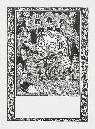 Charles LeDray, 'Ex Libris', 2018