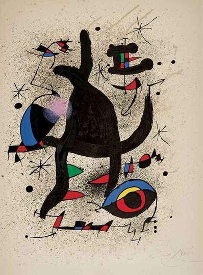 Joan Miró, 'Jongleur de Colombes', 1973