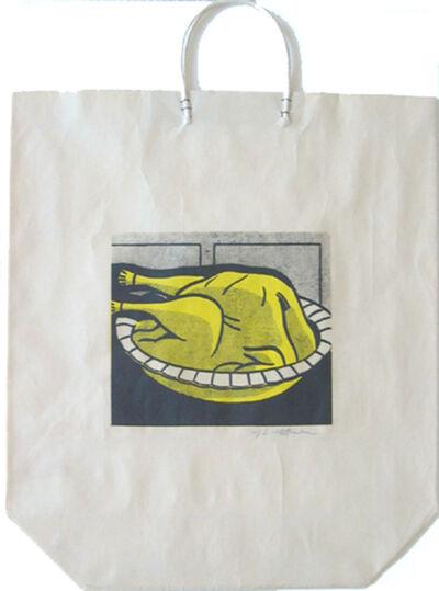 Roy Lichtenstein, 'Turkey Shopping Bag', 1964