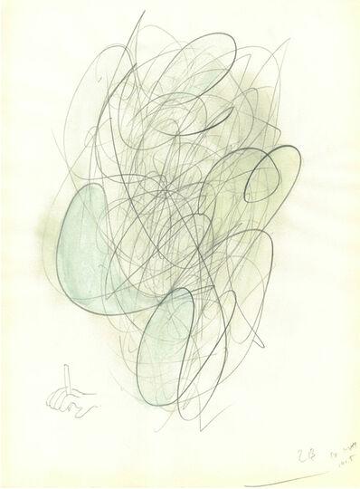 Katsunobu yaguchi, 'Untitled (d/c drawing *005) ', 2015