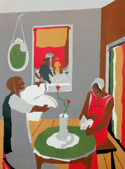 Jacob Lawrence, 'Aspiration', 1988