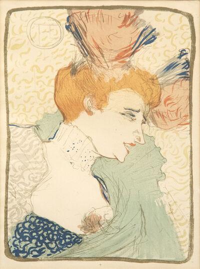 Henri de Toulouse-Lautrec, 'Madame Marcelle Lender en Buste', 1895