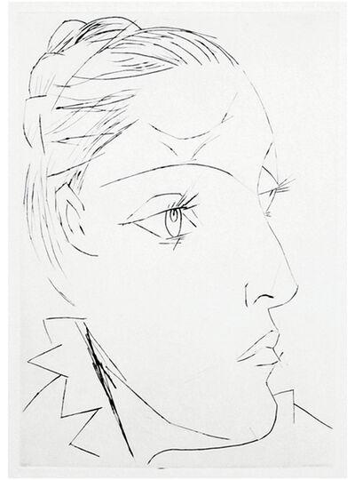 Pablo Picasso, 'Portrait de Dora Maar au Chignon. II', 1936