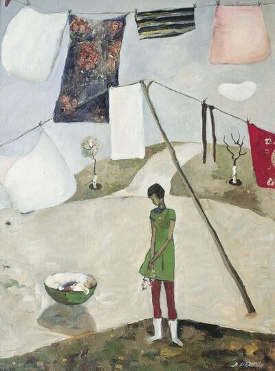 Valentina Vladimirovna Ivanova, 'Hanging clothes', 1971