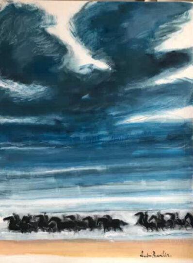 Andre Brasilier, 'Avant l'orage', 2018