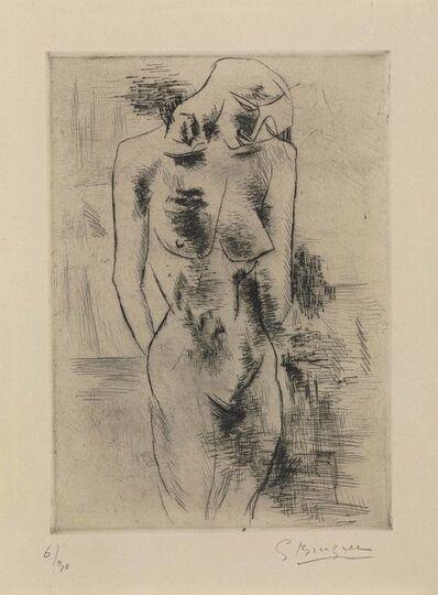 Georges Braque, 'Etude de nue (Nu)', 1907-08