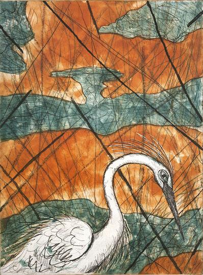 Frank X. Tolbert, 'Snowy Egret ', 2015