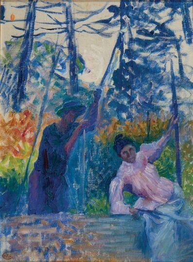 "Henri-Edmond Cross, 'Etude pour ""Jardin en Provence""', 1901"