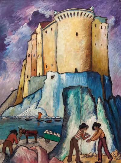 Marianne von Werefkin, 'Castello sul Mediterraneo in Italia', 1925.1932 BCE