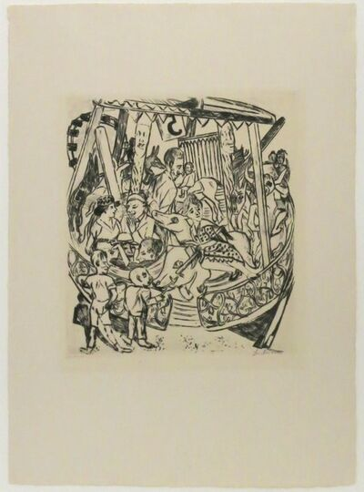 Max Beckmann, 'Das Karussell', 1921