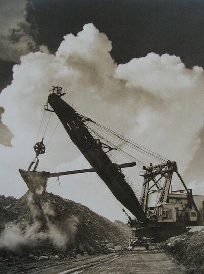 William Rittase, 'Untitled - crane w/bull dozer', ca. 1930