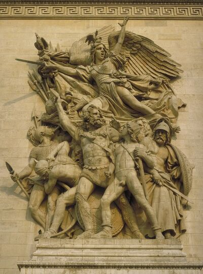 François Rude, 'The Departure of the Volunteers of 1792 (La Marseillaise)', 1833-1836