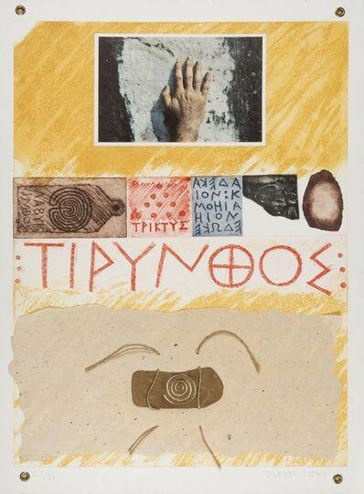Joe Tilson, 'Proscinemi Tyrins', 1978