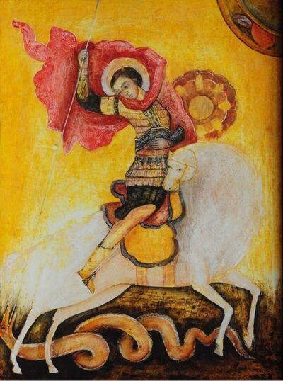 Esther Gonzalez, 'San Jorge Bizantino', n/a