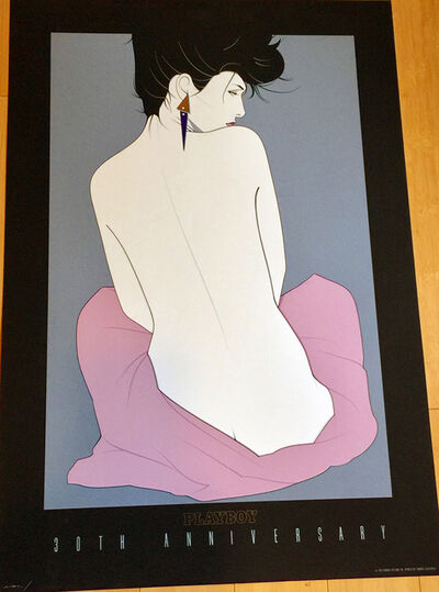 Patrick Nagel, 'Playboy 30th Anniversary', 1983